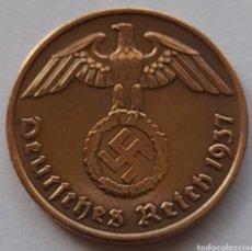 Monedas antiguas de Europa: 2 REICHSPFENNIG 1937. Lote 295981373