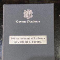 Monedas antiguas de Europa: CREXP09 CARTERA MONEDA 2 EUROS ANDORRA 2014 RARA 110. Lote 296889973