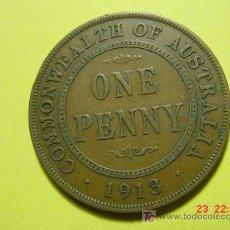 Monedas antiguas de Oceanía: 2423 AUSTRALIA 1 PENIQUE AÑO 1913 - MAS MONEDAS EN MI TIENDA COSAS&CURIOSAS. Lote 5974489