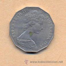 Monedas antiguas de Oceanía: *N13 - AUSTRALIA - 50 - ISABEL 2ª - 1969. Lote 20992401