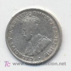 Monedas antiguas de Oceanía: AUSTRALIA 3 PENCE 1921 M KM 24 MBC PLATA. Lote 18472056