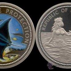 Monedas antiguas de Oceanía: PALAU IS. 1 DOLAR 1999 MANTA. Lote 252073515