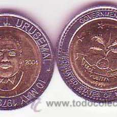 Monedas antiguas de Oceanía: MICRONESIA 1 DOLAR 2004 PRESIDENTE URUSEAMIL. Lote 25365736