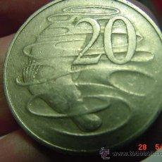 Monedas antiguas de Oceanía: AUSTRALIA 20 CENTS PLATYPUS AÑO 1966 - OCASION !! - PONGO A DIARIO DECENAS EN VENTA A PRECIOS BAJOS. Lote 26420850