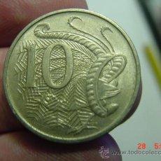 Monedas antiguas de Oceanía: AUSTRALIA 10 CENTS AVE LIRA AÑO 1967 - OCASION !! - PONGO A DIARIO DECENAS EN VENTA A PRECIOS BAJOS. Lote 26420936