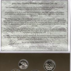 Monedas antiguas de Oceanía: NUEVA ZELANDA---------CARTERA MONEDAS 2004---SC----RARA. Lote 30982063