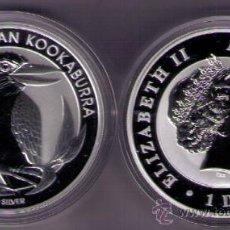 Monedas antiguas de Oceanía: AUSTRALIA 2012 - 1 ONZA DE PLATA PURA - 1 DOLAR - KOOKABURRA. Lote 125277800
