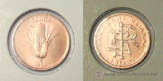 KM# 66 - TONGA - 1 CENTIMO - 1996 - (SIN CIRCULAR) (Numismática - Extranjeras - Oceanía)