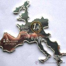 Monedas antiguas de Oceanía: NAURU 10 DOLARES 2002. Lote 34324849