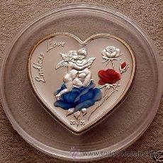 Monedas antiguas de Oceanía: ISLAS MARIANAS 5 DOLARES 2005 ANGEL LOVE. Lote 34850173