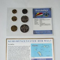 Monedas antiguas de Oceanía: SEYCHELLES EN PLÁSTICO 1997 - 2003. Lote 35908846