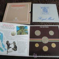 Monedas antiguas de Oceanía: CARTERA VANUATU 1983. Lote 35908979
