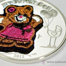 Monedas antiguas de Oceanía: PALAU 5 DOLARES 2012 MY LOVELY BEAR. Lote 37494423