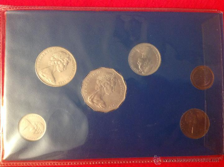 Monedas antiguas de Oceanía: Estuche con las monedas que se acuñaron para Australia, 1980, S/C. - Foto 2 - 41246512