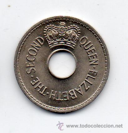 Monedas antiguas de Oceanía: Islas Fiji. 1 Penique. Año 1966. Sin Circular. - Foto 2 - 41669403