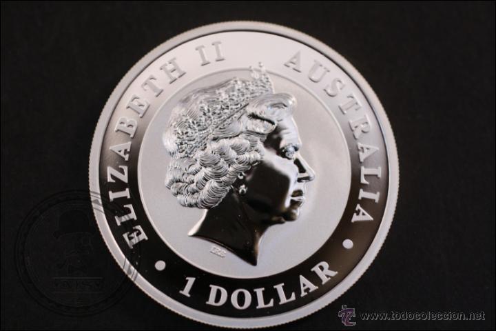 Monedas antiguas de Oceanía: Moneda de Australia - Kookaburra - Plata 999 Milésimas - 2014 - 1 Dollar - Conservación MBC+ - Foto 2 - 42218622