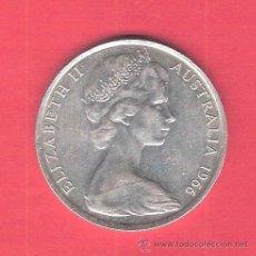 Monedas antiguas de Oceanía: AUSTRALIA. 50 CENT. 1966. PLATA. 13 GRAMOS.. Lote 42938195