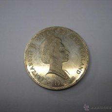 Monedas antiguas de Oceanía: NUEVA ZELANDA , 1 DOLAR DE PLATA DE 1981. VISITA REAL DE ISABEL II. Lote 43771107