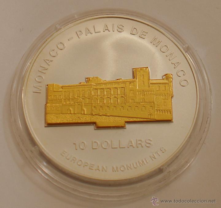 NAURU 10 DOLARES 2004 PALAIS DE MONACO (Numismática - Extranjeras - Oceanía)