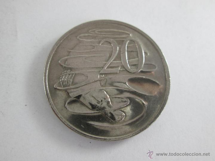 MONEDA-AUSTRALIA-20 CENTS-ELIZABETH II-1978-30 MM.D-BUEN ESTADO-. (Numismática - Extranjeras - Oceanía)