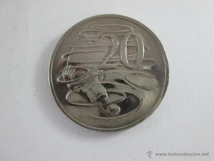 Monedas antiguas de Oceanía: MONEDA-AUSTRALIA-20 CENTS-ELIZABETH II-1978-30 MM.D-BUEN ESTADO-. - Foto 2 - 44326323