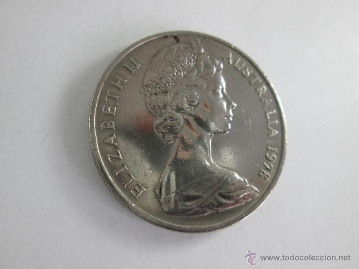 Monedas antiguas de Oceanía: MONEDA-AUSTRALIA-20 CENTS-ELIZABETH II-1978-30 MM.D-BUEN ESTADO-. - Foto 4 - 44326323