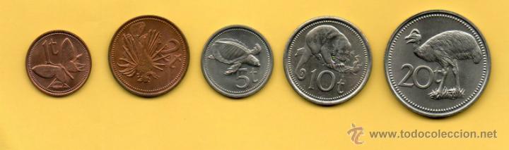 Monedas antiguas de Oceanía: MM SERIE PAPUA NEW GUINEA. PAPUA NUEVA GUINEA. AÑO 1975. SERIE SIN CIRCULAR. PRECIOSA. - Foto 2 - 44631039