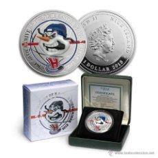 Monedas antiguas de Oceanía: NIUE ISLAND: 1 DOLLAR 2013 SILVER HOCKEY - SIBIR NOVOSIBIRSK 50 TH ANNIVERSARY. Lote 44757544