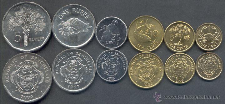 Resultado de imagen de rupia seychelles