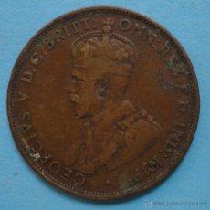 Monedas antiguas de Oceanía: AUSTRALIA ONE PENNY 1919. Lote 45697964