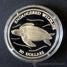 Monedas antiguas de Oceanía: TUVALU. 20 DOLARES 1993. PLATA, PROOF, EN CÁPSULA. . Lote 48687353