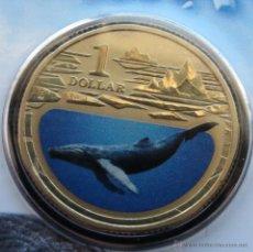 Monedas antiguas de Oceanía: AUSTRALIA 1 $ 2013 BALLENA. Lote 72644109