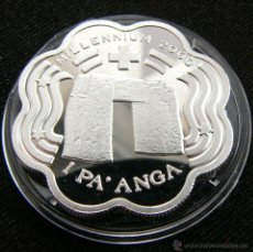 Monedas antiguas de Oceanía: TONGA 1 PA'ANGA 1999 MILENIO MILLENNIUM. Lote 49057692