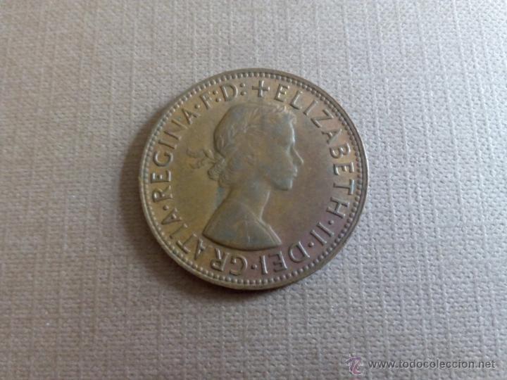 Monedas antiguas de Oceanía: A103 - Australia penny 1959 - Foto 2 - 52452580