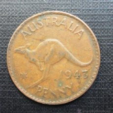Monedas antiguas de Oceanía: AUSTRALIA. PENNY. 1943. Lote 52995965