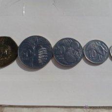 Monedas antiguas de Oceanía: SAMOA SERIE DE 5 VALORES 2002 SC. Lote 53334102
