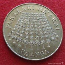 Monedas antiguas de Oceanía: TONGA 1 PAANGA 1975 FAO BOSQUE. Lote 149696149