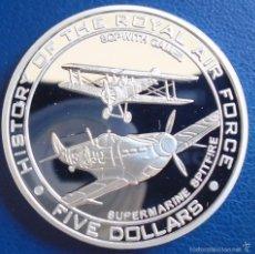 Monedas antiguas de Oceanía: NAURU 5 DOLARES 2008. Lote 56548257