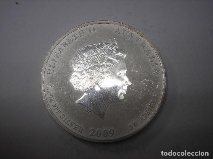 AUSTRALIA, 1/2 ONZA = 1/2 DOLAR, DE PLATA DE 2009 (Numismática - Extranjeras - Oceanía)