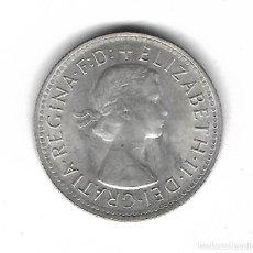Monedas antiguas de Oceanía: MONEDA. 1 CHELIN. AUSTRALIA. 1961. PLATA. S/C. Lote 68120949