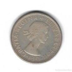 Monedas antiguas de Oceanía: MONEDA. AUSTRALIA. 1 FLORIN. 1953. PLATA. Lote 69052661