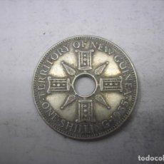 Monedas antiguas de Oceanía: NEW GUINEA= PAPUA NUEVA GUINEA. MONEDA DE PLATA DE 1 SHILLINGS DE 1935. Lote 69857121