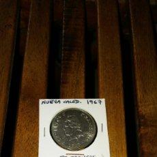 Monedas antiguas de Oceanía: MONEDA NUEVA CALEDONIA 1967 50 FRANCOS. Lote 73223019