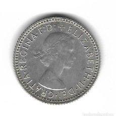 Monedas antiguas de Oceanía: MONEDA. AUSTRALIA. 6 PENCE. 1963. Lote 76056479