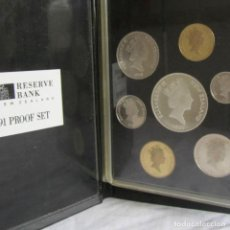 Monedas antiguas de Oceanía: CARPETA CARTERA DE MONEDAS NUEVA ZELANDA 1991 NEW ZEALAND PROOF SET. Lote 78916269
