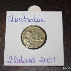 Monedas antiguas de Oceanía: AUSTRALIA 2 DOLARES 2001. Lote 84743228