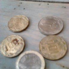 Monedas antiguas de Oceanía: LOTE 5 MONEDAS,REPÚBLICA DE CHILE, AÑO 1974-75-2009. Lote 86932091