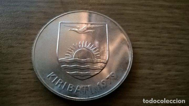 Monedas antiguas de Oceanía: Kiribati. 5 dollars de plata de 1979 - Foto 2 - 118260720