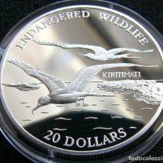 Monedas antiguas de Oceanía: KIRIBATI 20 $ 1992 AVES. Lote 95574663