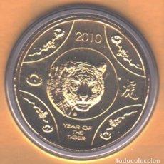 Monedas antiguas de Oceanía: AUSTRALIA - 1 DOLAR - 2010 - SIN CIRCULAR - ALUM/BRONCE - MUY ESCASA. Lote 96692771